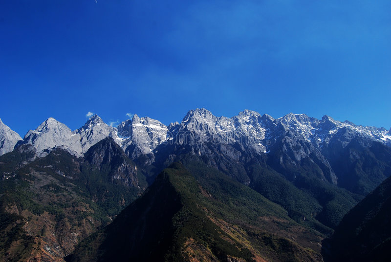 smoka chabeta góry śnieg obrazy royalty free