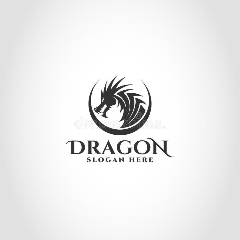 Smoka logo jest logo i wiele inny który może używać firmą, klubem, społecznością, cyfrowym produktem wliczając gry i oprogramowan ilustracji