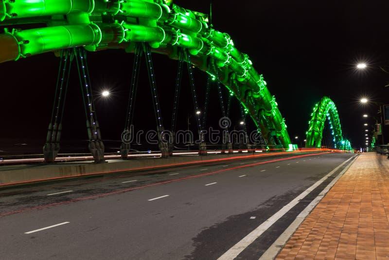 Smoka most w da nang obrazy royalty free