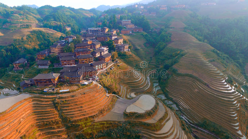 Smoka tylny Guilin Guangxi Chiny fotografia stock