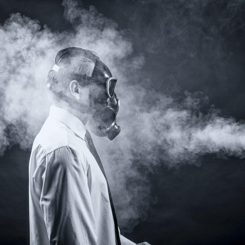 The smoke stock photography