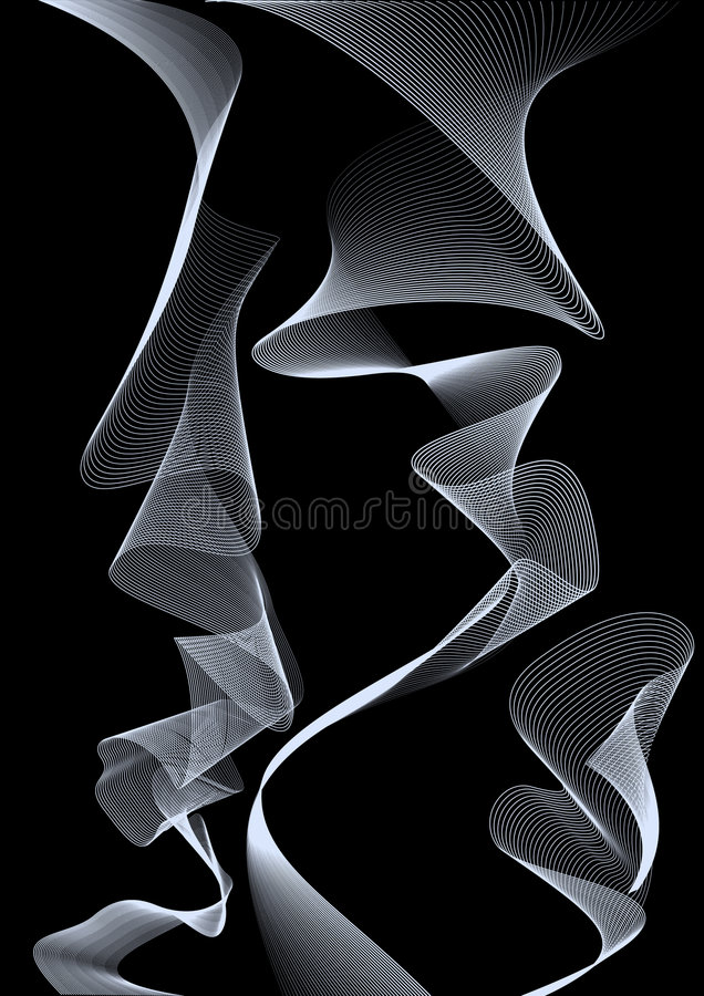 Smoke vector illustration