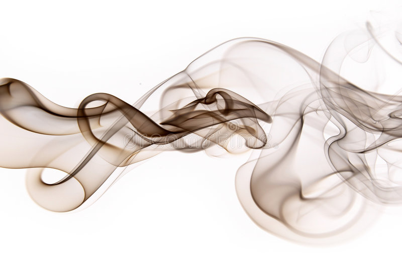 Smoke. Abstract photo to background