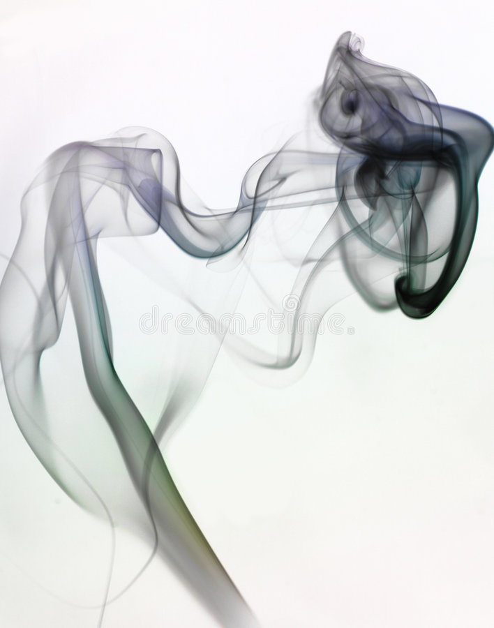 Smoke stock image