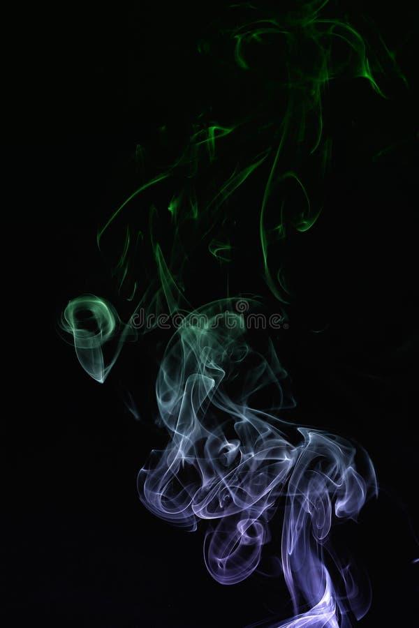Smoke abstraction royalty free stock photo
