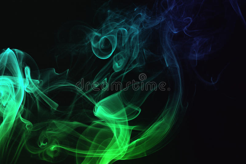 Smoke abstraction royalty free stock images