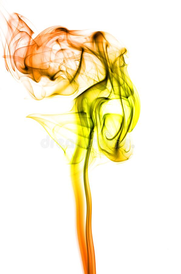 Smoke art stock photos