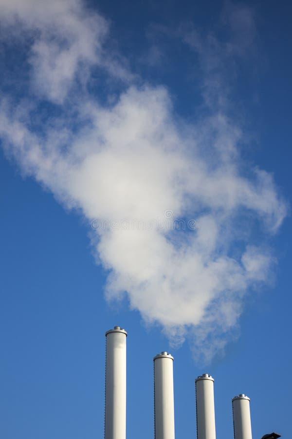 Free Smoke Chimneys Stock Photography - 49806592