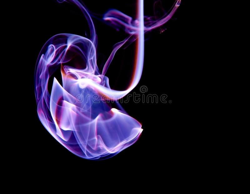 Smoke cloud royalty free stock photos