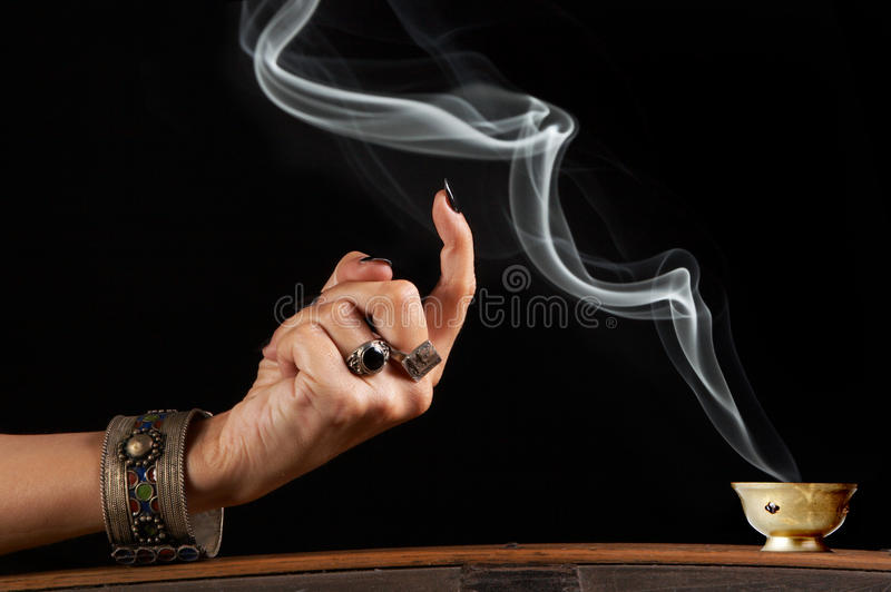 Smoke in command stock images