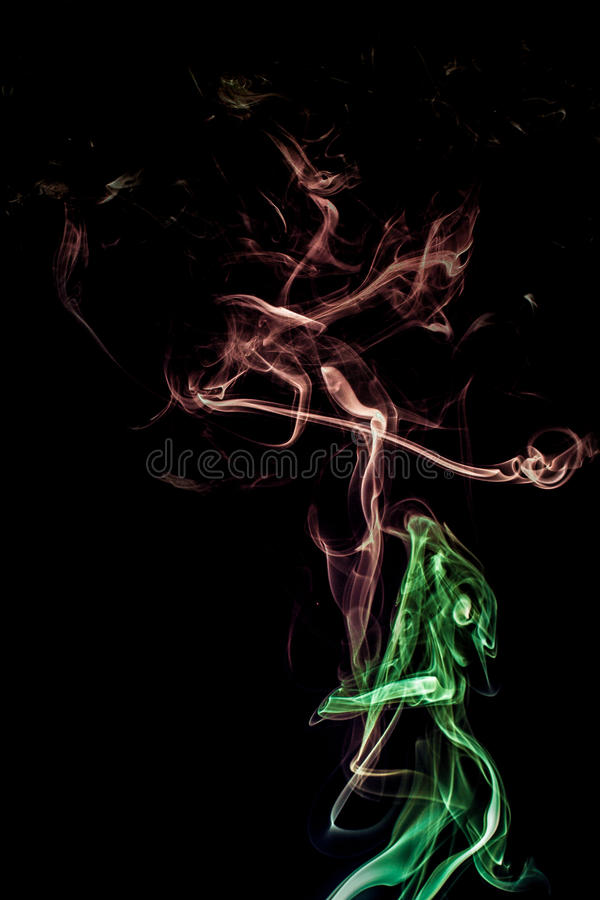 Free Smoke Dance - Lost Love Royalty Free Stock Photo - 24861035