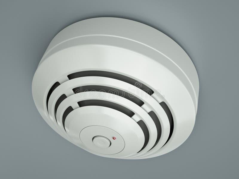 Download Smoke detector stock illustration. Image of home, alert - 23575490