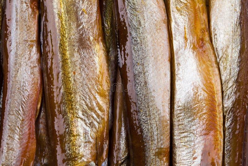 Smoke-dried fish stock images