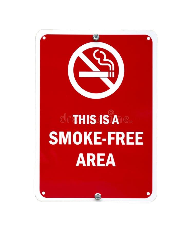 Smoke-free sign stock photos