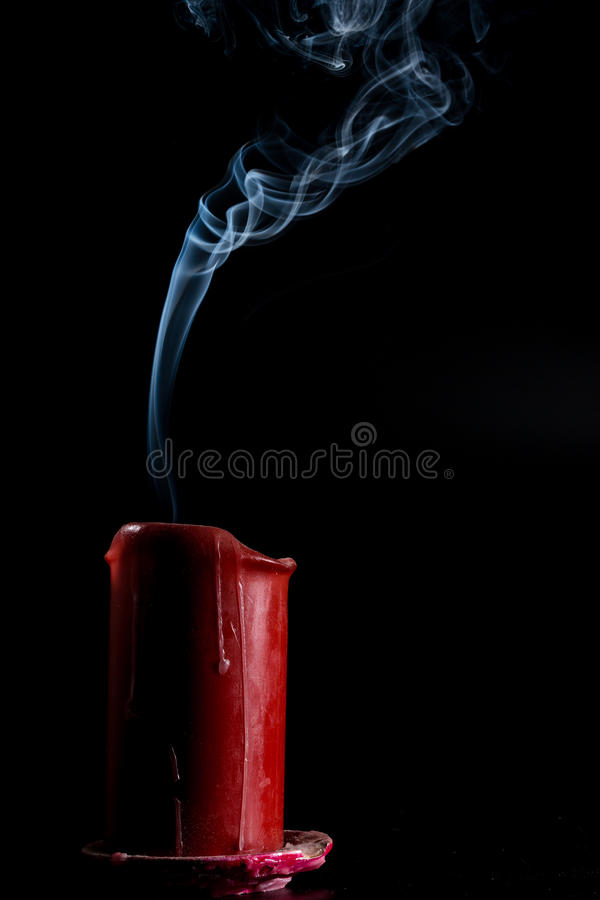 Smoke goes up royalty free stock image
