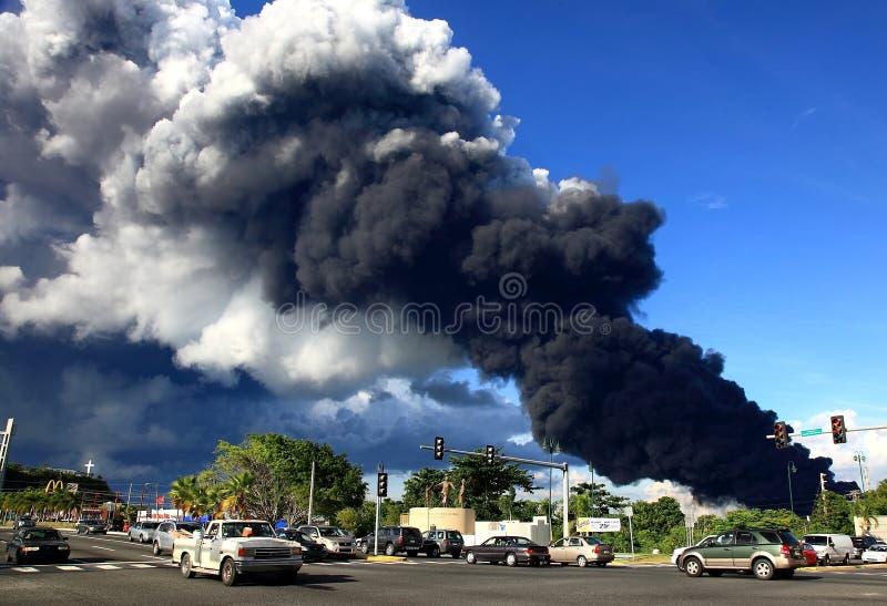 Smoke II royalty free stock photos