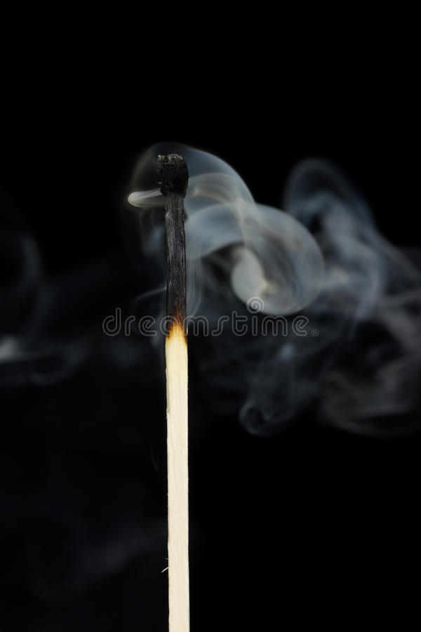 Download Smoke from a match stock image. Image of matchstick, close - 23721067