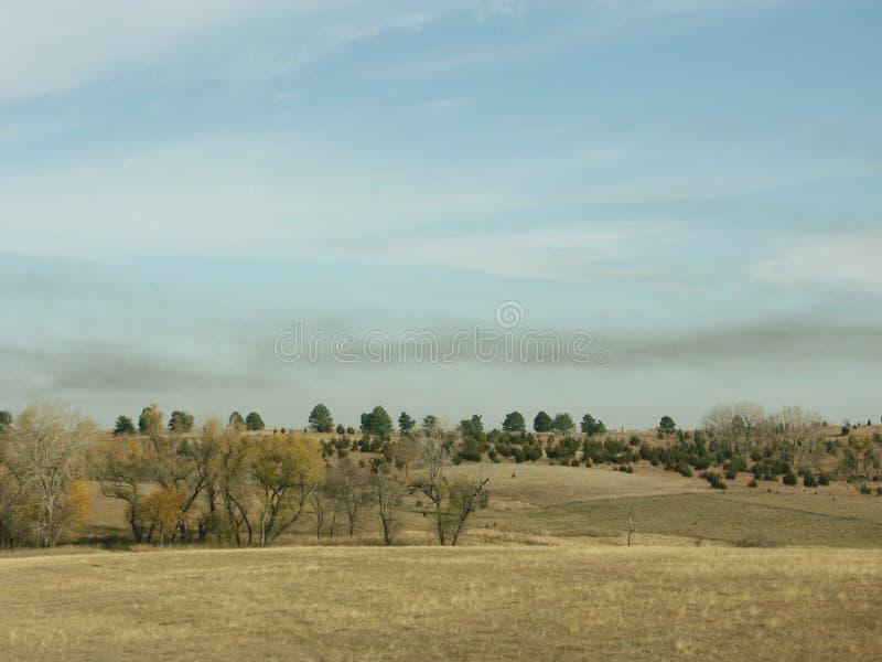 Download Smoke over pasture stock photo. Image of nebraska, green - 76098