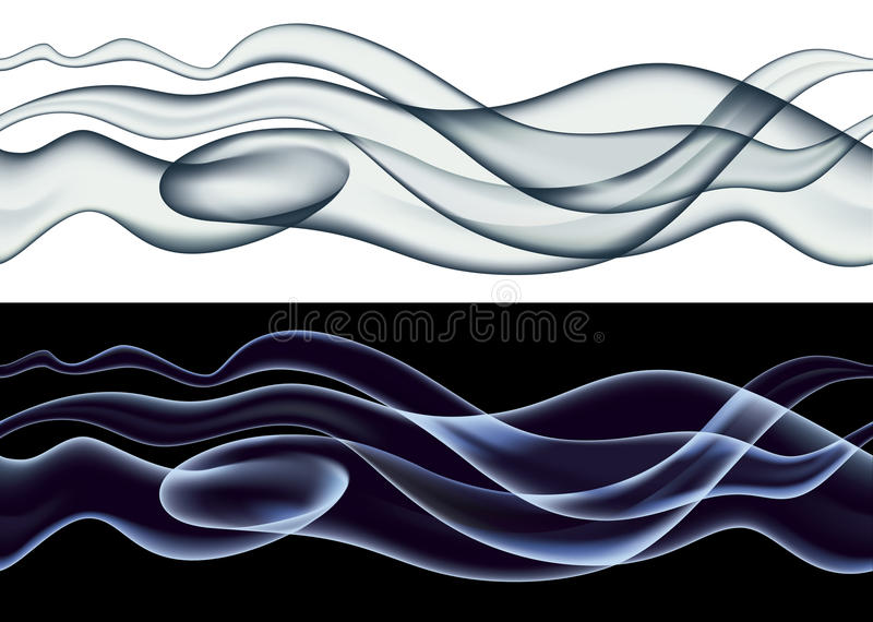 Download Smoke pattern stock vector. Image of pattern, abstract - 16621512