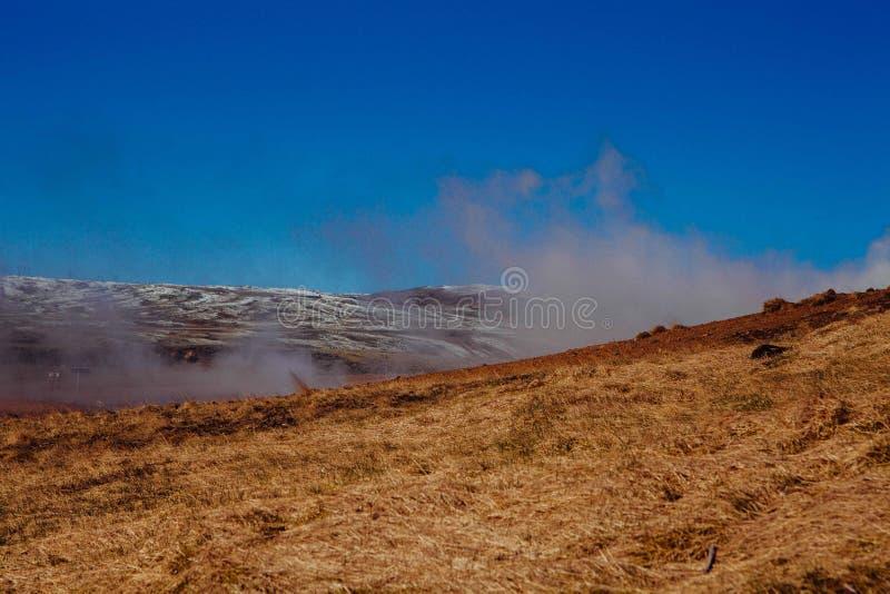 Smoke Rising Over Grassland Free Public Domain Cc0 Image
