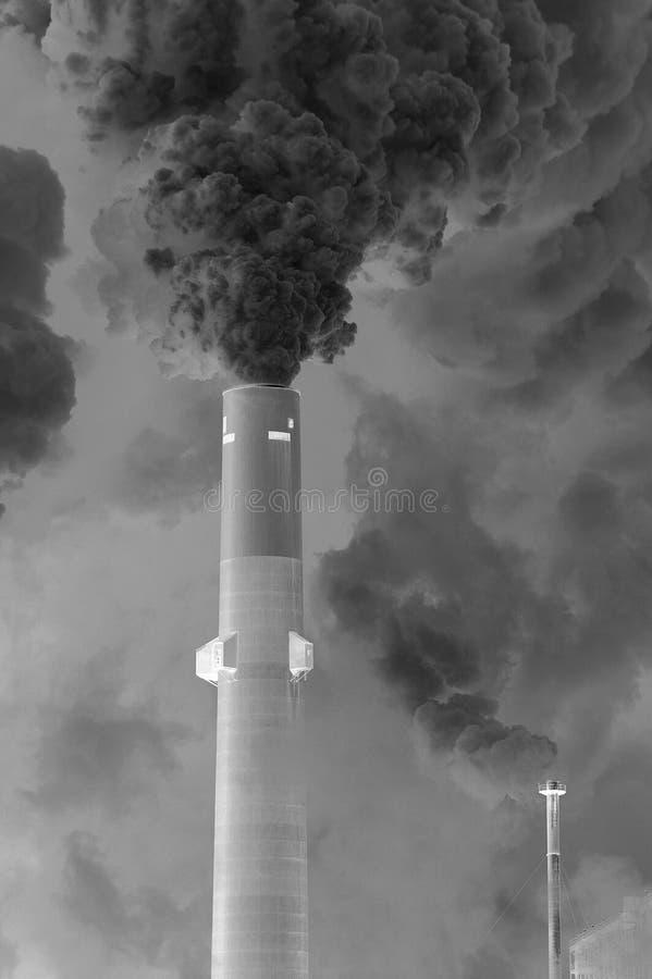 Free Smoke Stack Royalty Free Stock Photo - 4224915