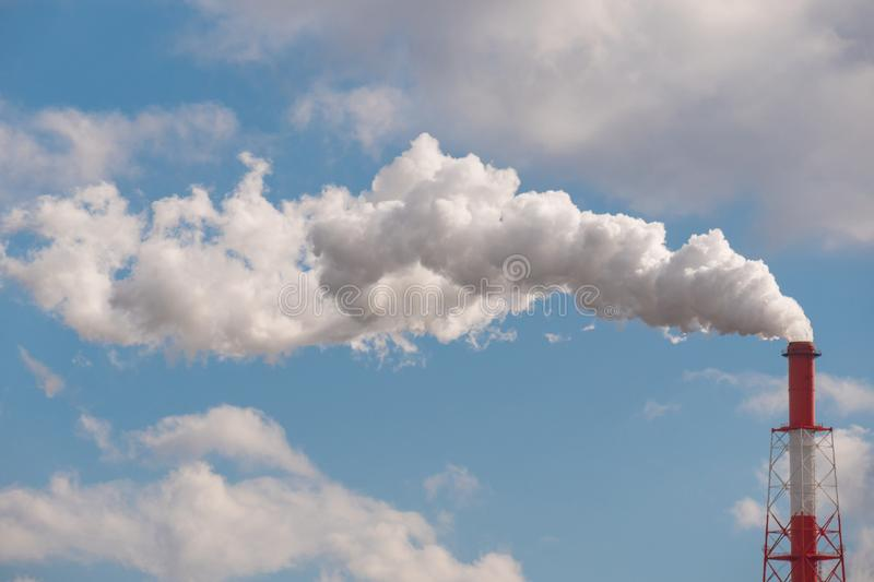 Chimney Smoke Stack Metal Pipe Stock Photo Image Of