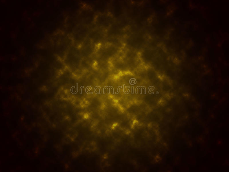 Smoke texture abstract black and yellow color background stock photo