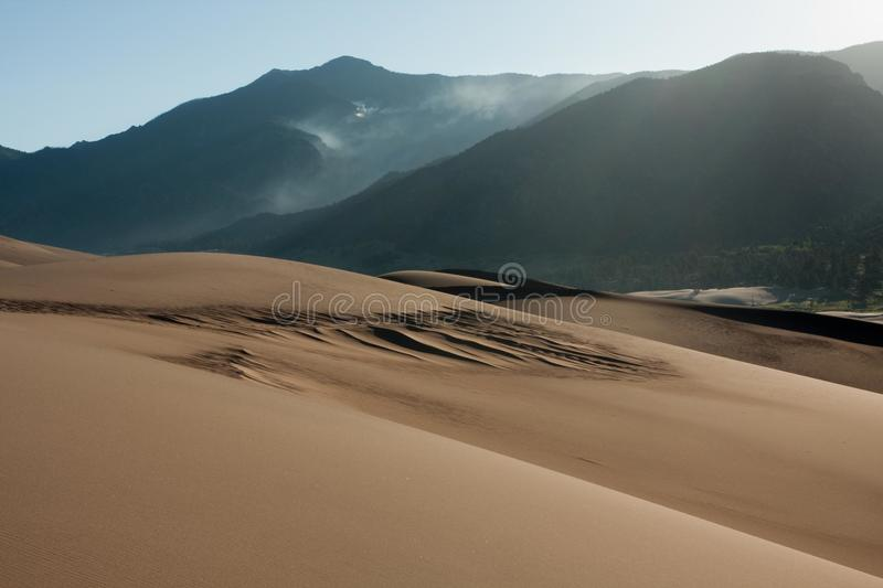 Download Smoke From Wildfire In Forested Mountains Stock Image - Image: 16330863