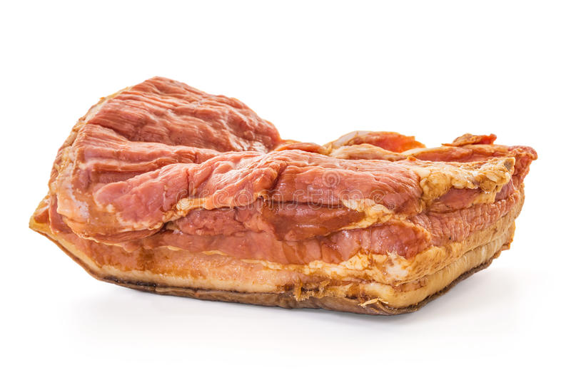 Download Smoked Bacon Slab stock photo. Image of belly, food, nutrition - 33498336