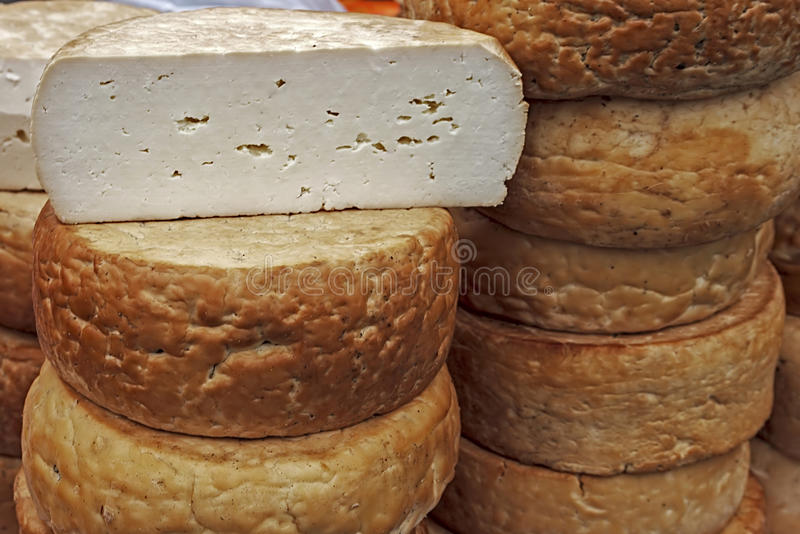 Smoked Cheese-1 Stock Photography