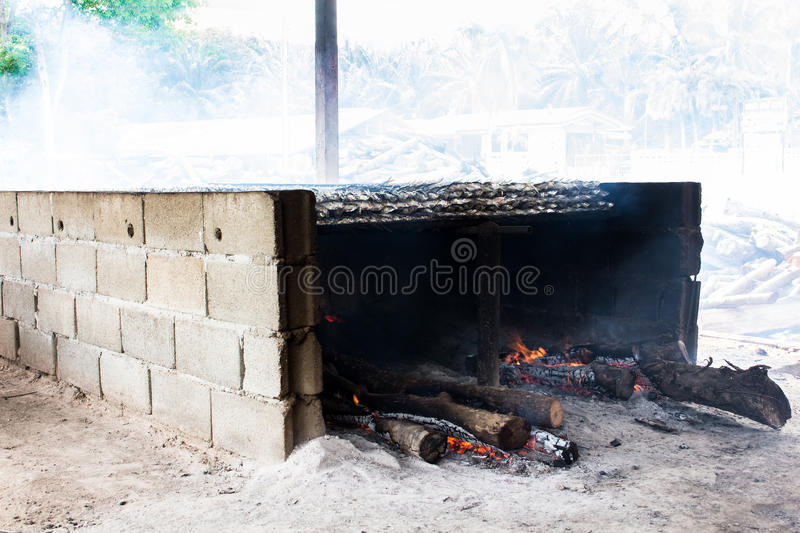 Smoked fish from fishing village food industry at krabi thailand. This is smoked fish from fishing village food industry at krabi thailand stock photos