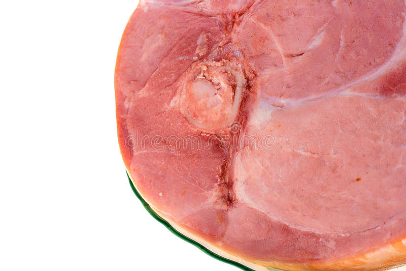 Download Smoked gammon stock image. Image of food, portion, italian - 13856311