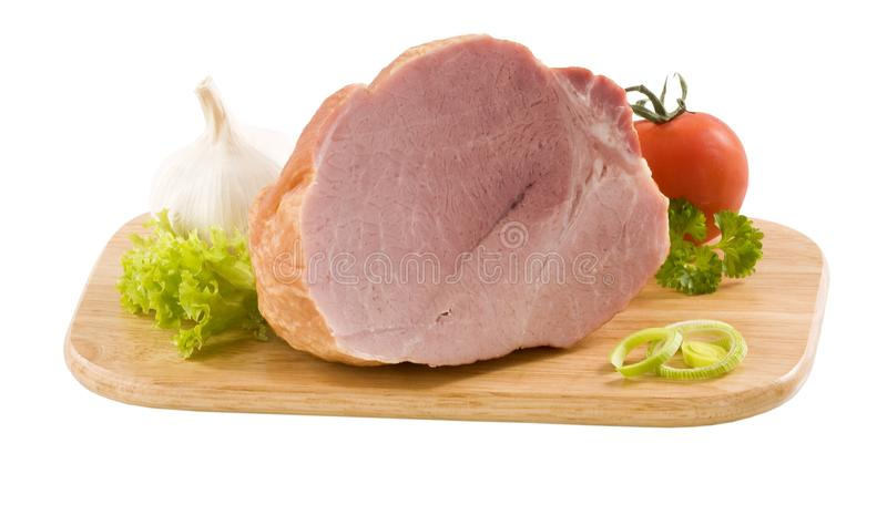 Smoked ham stock photography