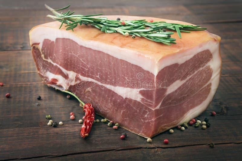 Smoked ham royalty free stock images