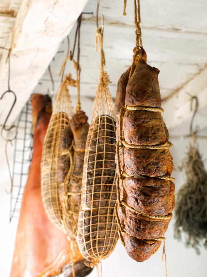 Free Smoked Meat Royalty Free Stock Image - 20391276