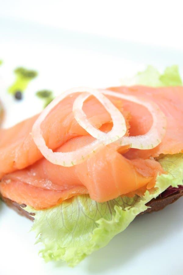 Smoked Norwegian Salmon Stock Images
