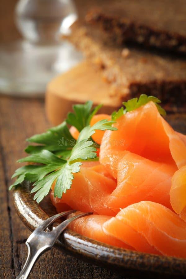 Free Smoked Salmon Stock Photos - 45601323