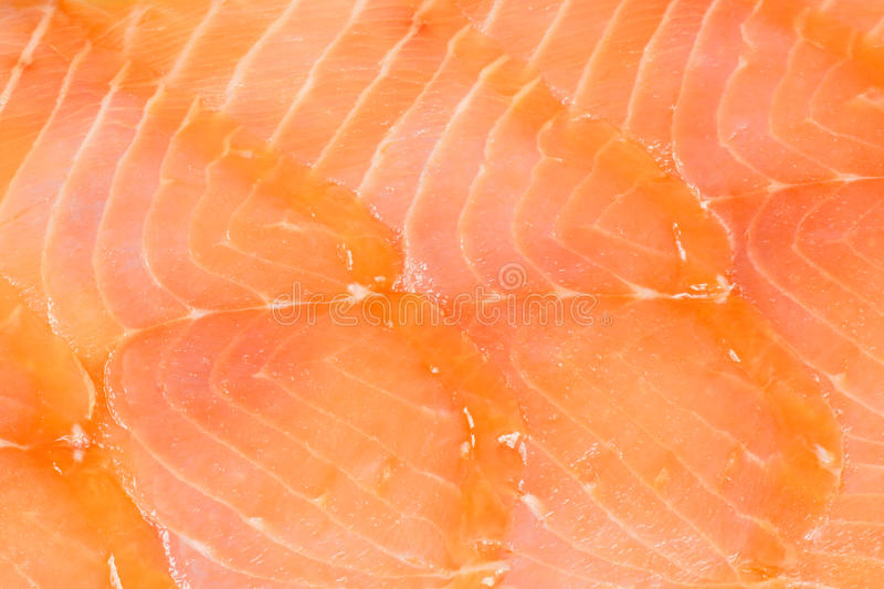 Smoked salmon background stock images