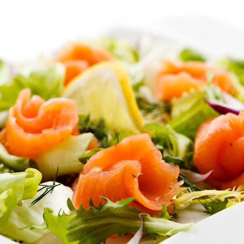 Download Smoked Salmon Salad Stock Image - Image: 20263881