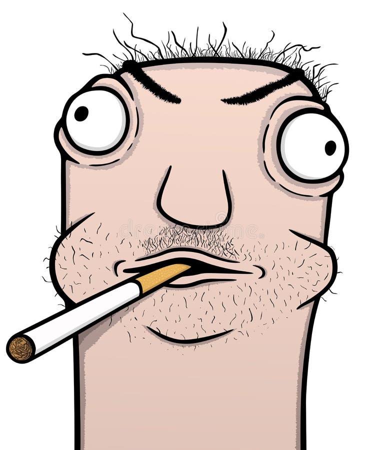 Картинка смешная курящий мужик