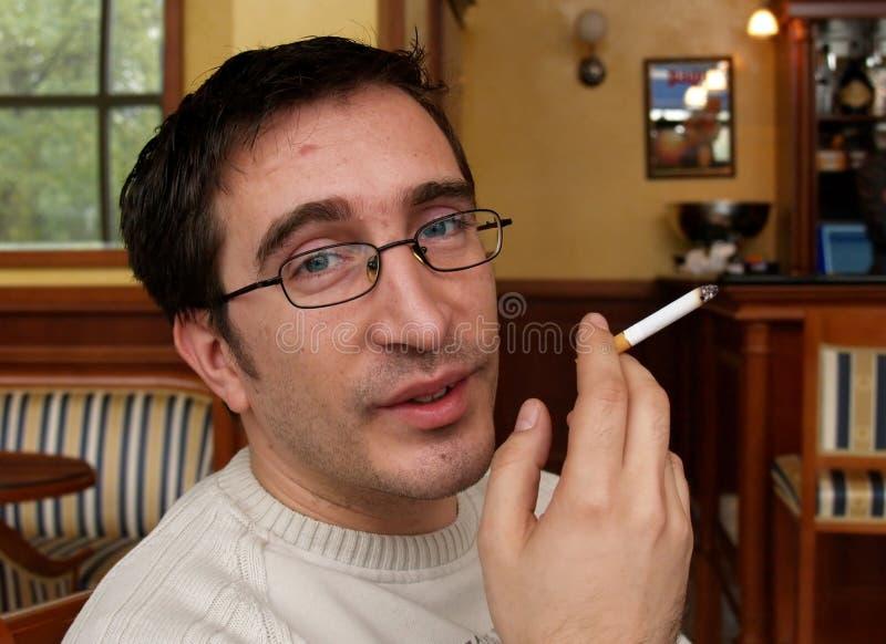 Smoker Face / Enough, Pal? stock images