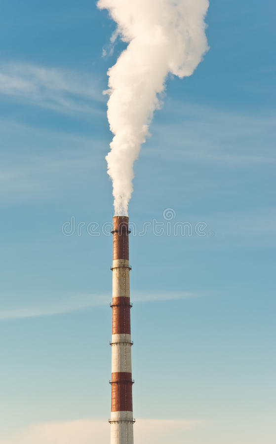 Smokestack Royalty Free Stock Photo