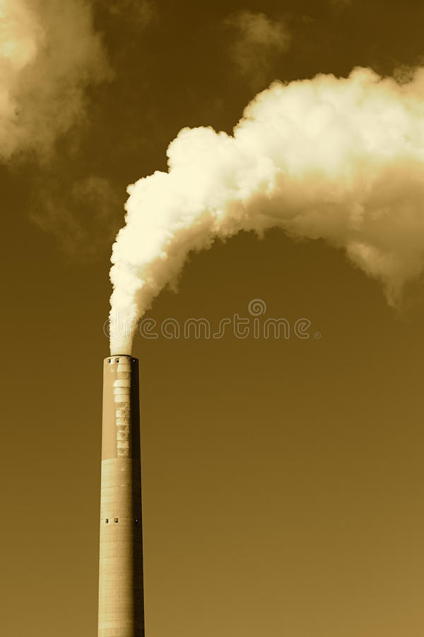 Smokestack Royalty Free Stock Image