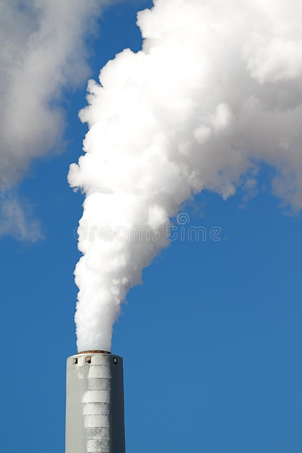 Smokestack fotografia de stock royalty free