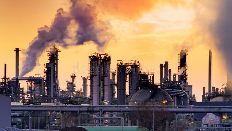 Smokestack w fabryce zdjęcie stock