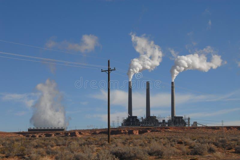 Smokestacks foto de stock royalty free