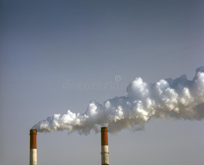 Download Smokestacks. Royalty Free Stock Photos - Image: 23398398