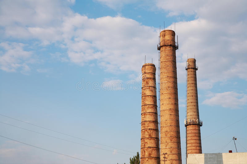 smokestacks foto de stock