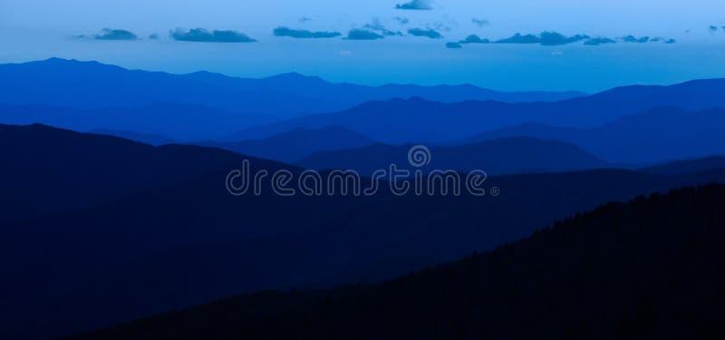 Smokey山国家公园蓝色 库存照片