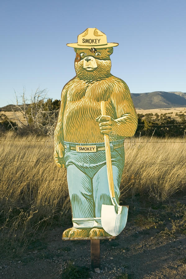 Download Smokey Bear editorial image. Image of mammal, route, national - 25968660